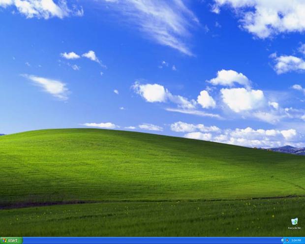 origen del fondo de pantalla de windows xp
