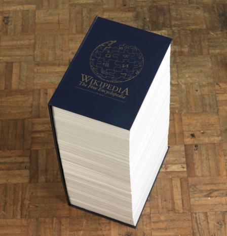 Wikipedia impreso