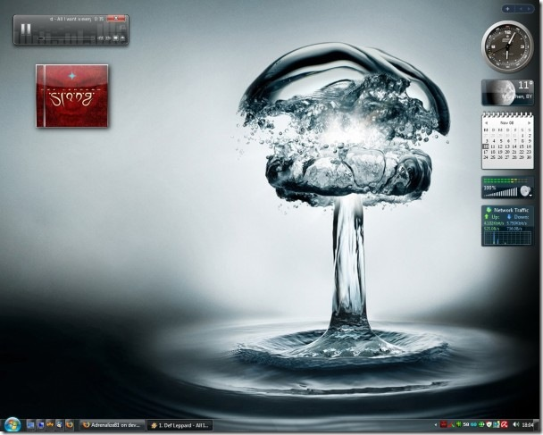 Waterbomb y Windows 7