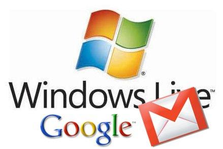 logo gmail hotmail