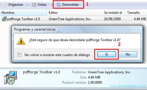 pdfforge toolbar