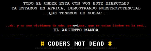 peruvian mensaje