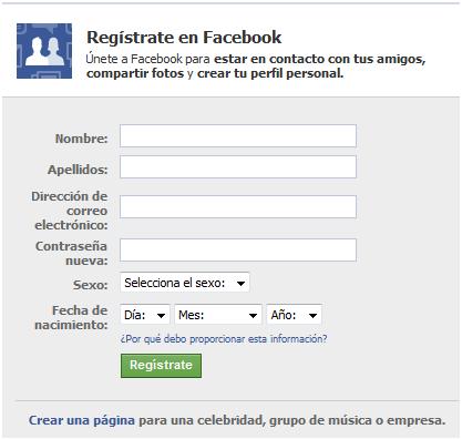 truco de facebook como entrar con nombre y apellido a tu